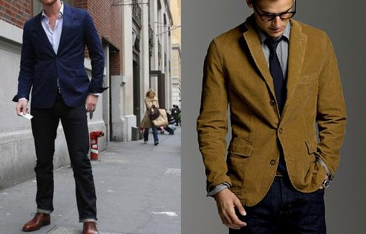 How Do You Wear a Sports Jacket With Jeans?
