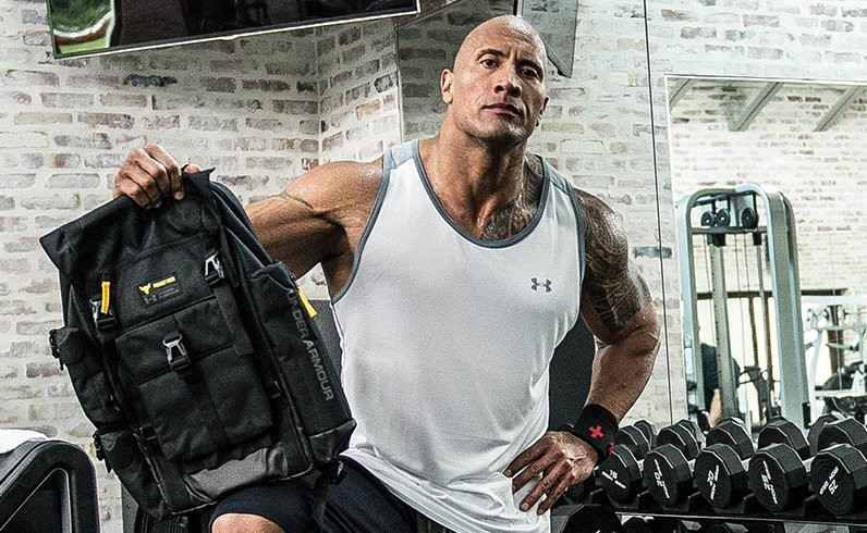 the rock under armour backpack