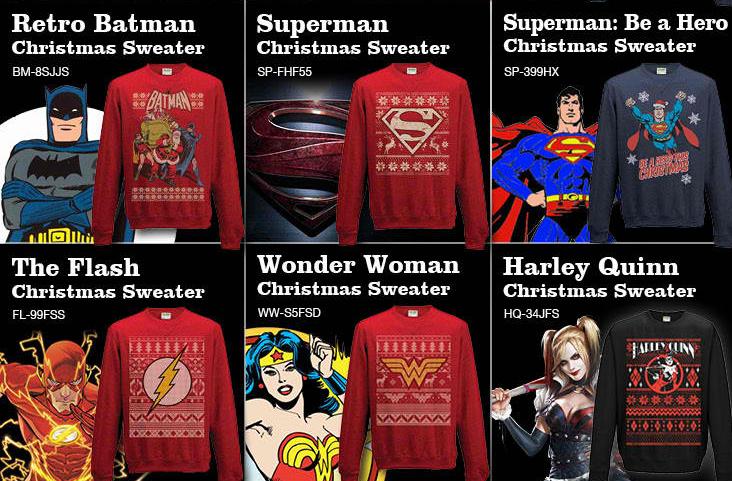 Superhero Ugly Christmas Sweaters.Geeky Ugly Christmas Sweaters To Keep You Warm